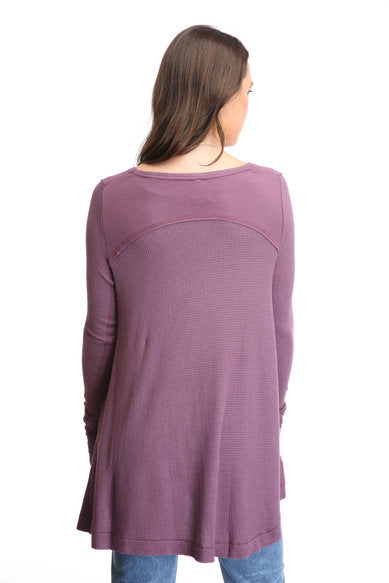 Free People Malibu High-Low Thermal Top - Gear Relapse