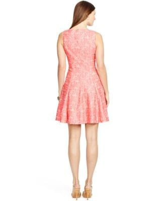 American Living Sleeveless Lace Dress Light Pink 12