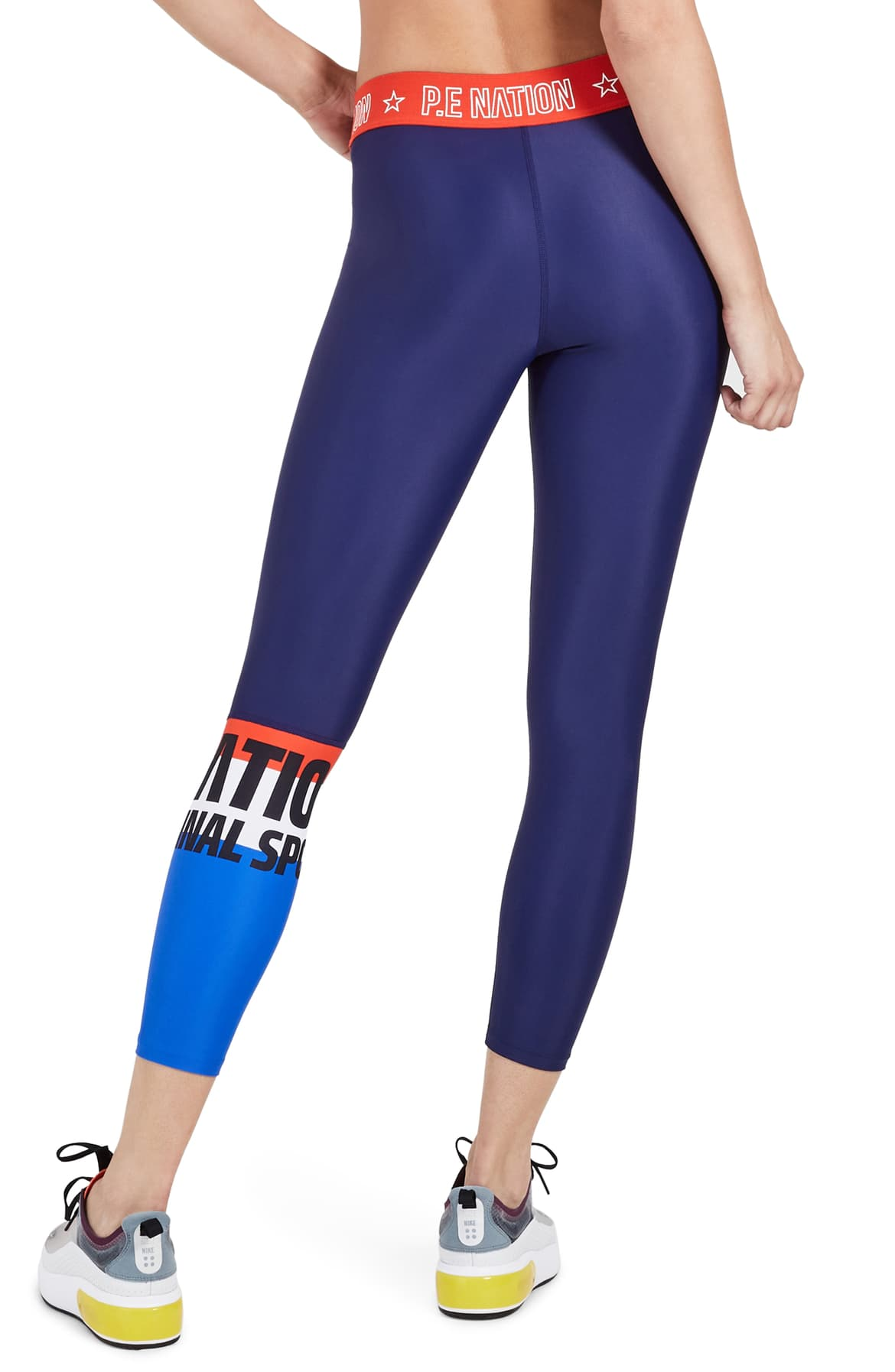 P.E NATION Kicker Leggings Navy M