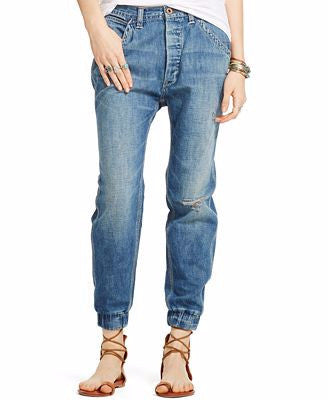 Denim & Supply Ralph Lauren Slouch-Fit Jean Rayder Wash Navy 28