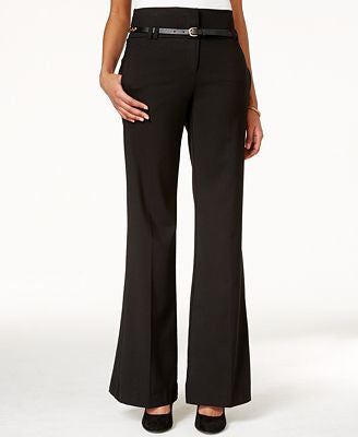 XOXO Juniors' Belted Wide-Leg Pants 7/8