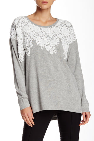 Maison Jules Off-The-Shoulder Sweater Bright White