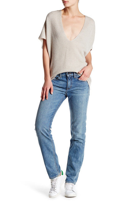 Helmut Lang Relaxed Denim Jean Light Blue 26