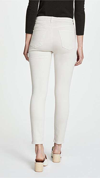 J Brand Alana High-Rise Cropped Jeans in Honesty 30