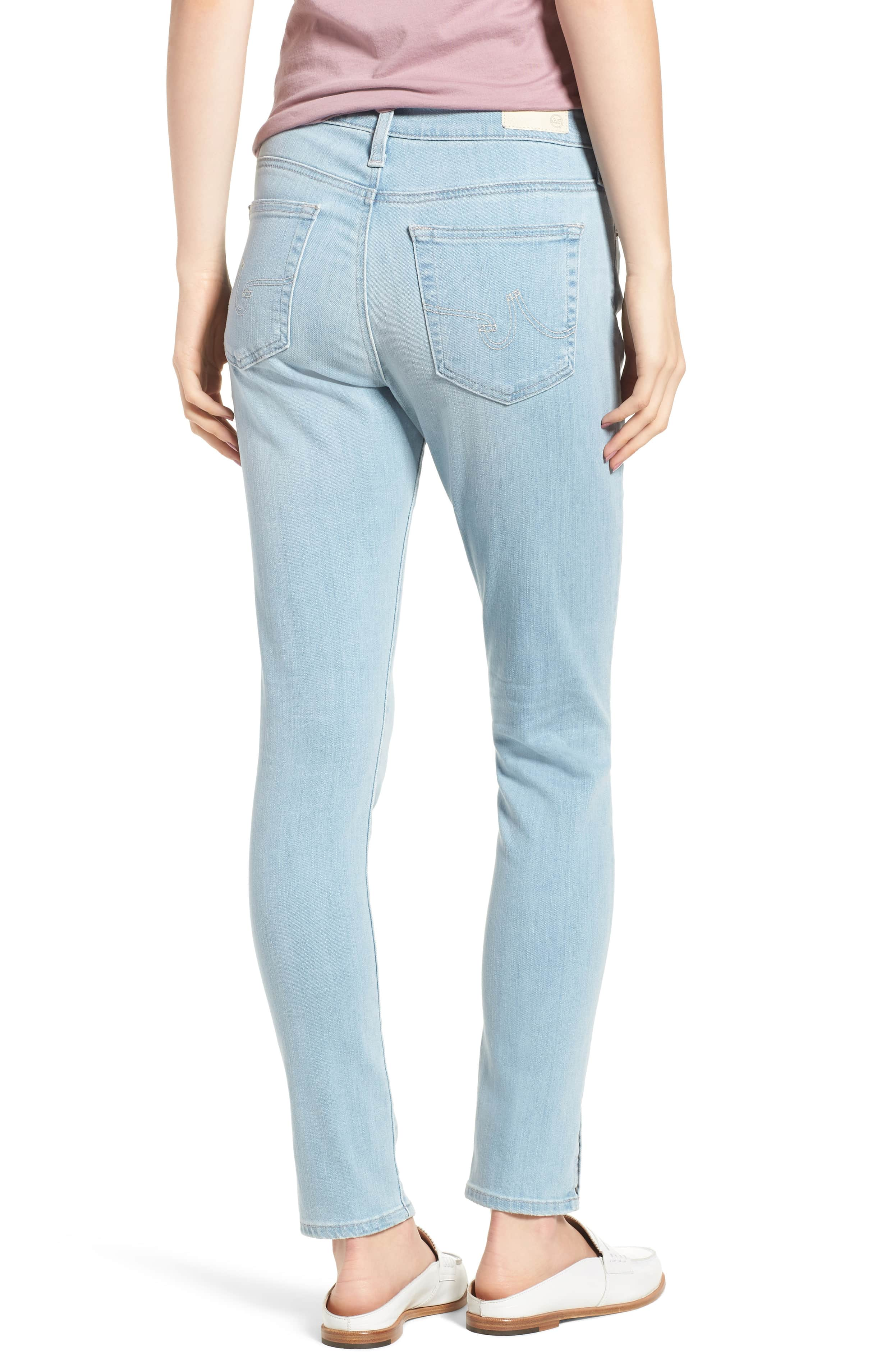 AG Farrah High Waist Ankle Skinny Jeans 20 Years Sutro