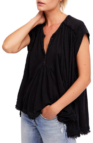 Bar III Blouson-Sleeve Surplice Top