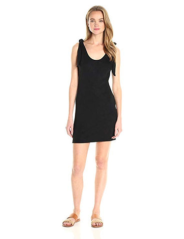 Trina Turk Women's Eastside One-Shoulder Fringe Dress Black S