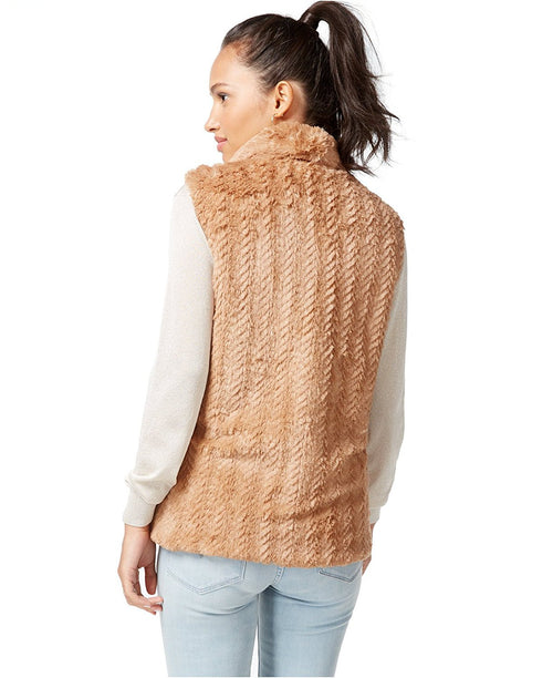 WildFlower Faux Fur Lined Outerwear Vest