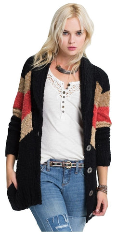 GUESS Open-Front Eyelash Cardigan Milk S