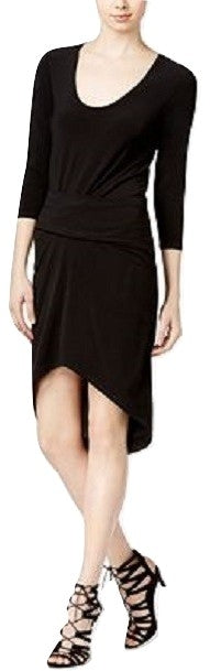 RACHEL Rachel Roy Women's Michelle High-Low Dress Black