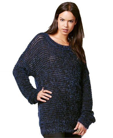 Rachel Rachel Roy Metallic Pullover Sweater