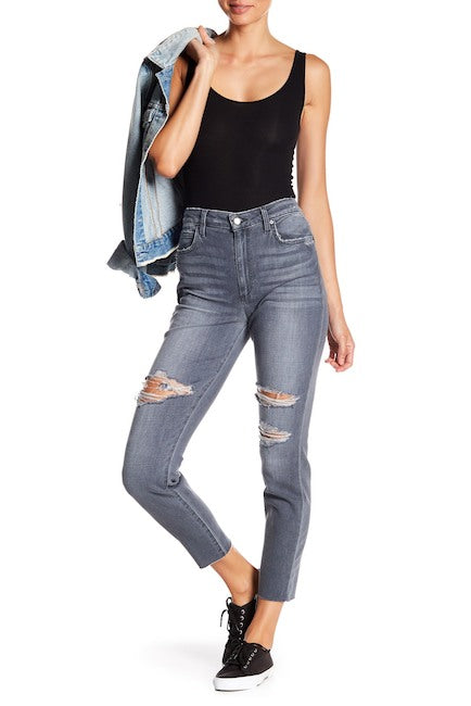 Joe's Jeans The Charlie High Waisted Ankle Skinny Jeans Miray 26