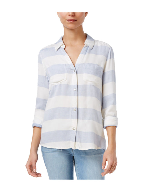 Maison Jules Long-Sleeve Rugby-Stripe Shirt