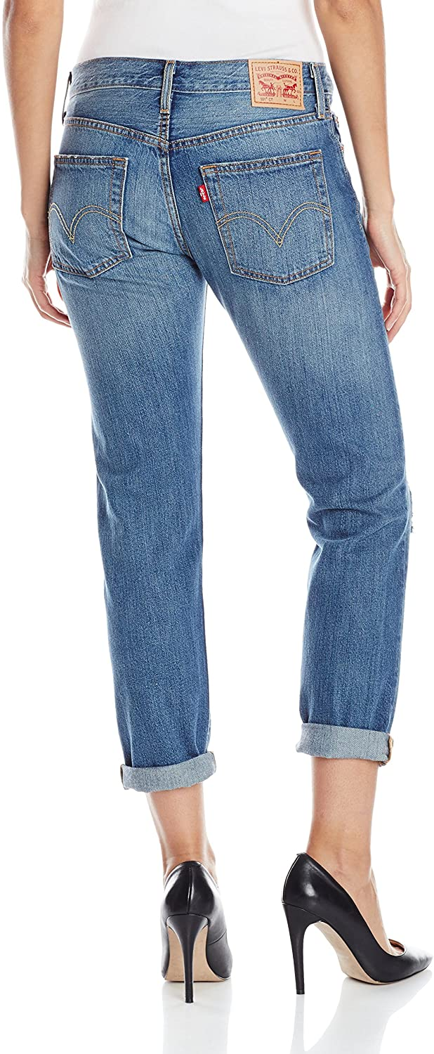 Levi 501 Women's Boyfriend Jeans Surfer Girl 29R