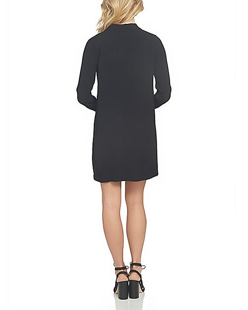 1.STATE Lace-Up Classic Long Sleeve Shirtdress - Gear Relapse
