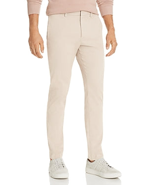 Theory Men's Casual Zaine Slim Fit Chinos Beige