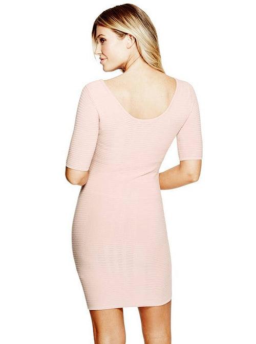 GUESS Allison Shadow Dress Rose Smoke - Gear Relapse