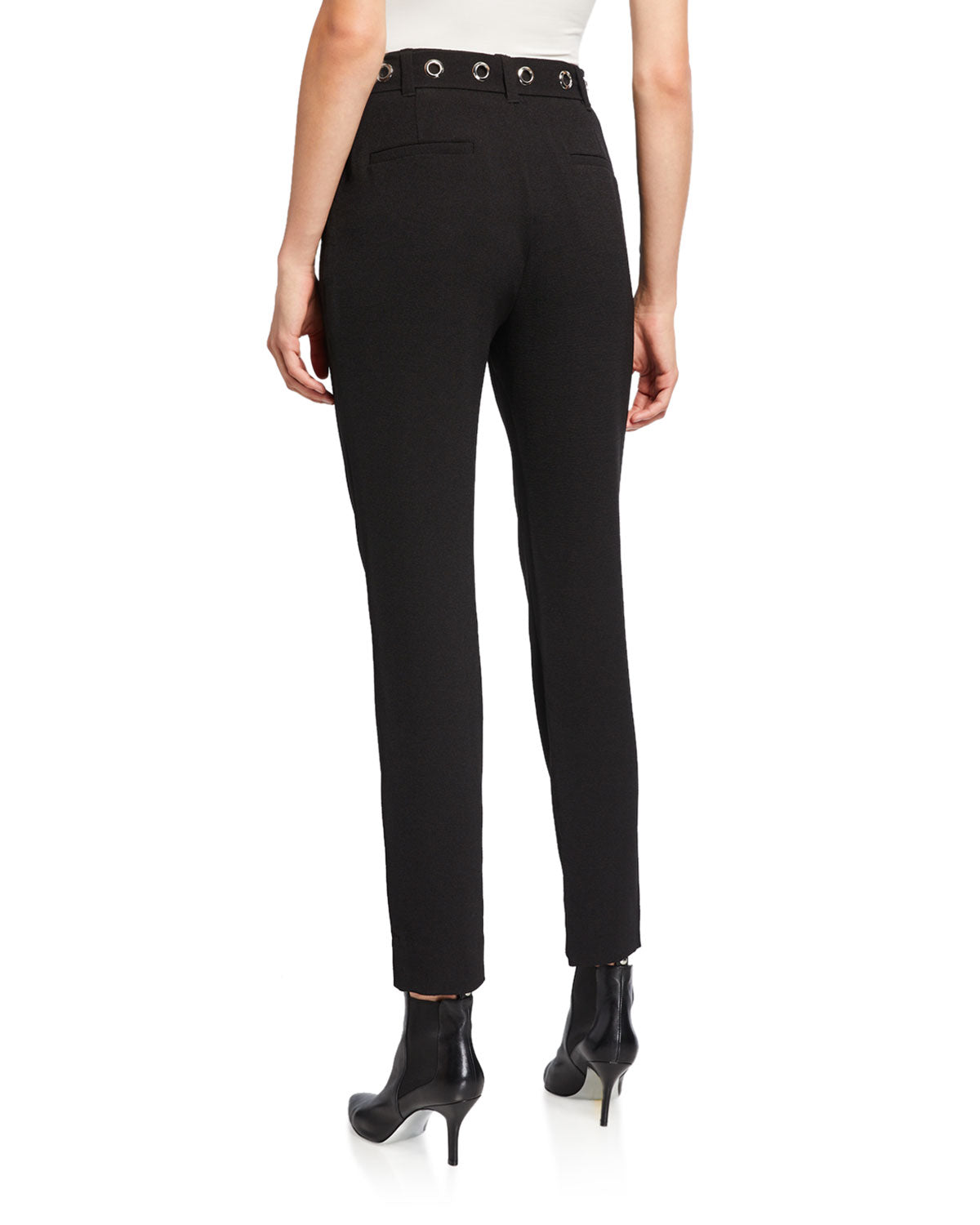RACHEL Rachel Roy Women's Zane Belted Ankle Pants Black