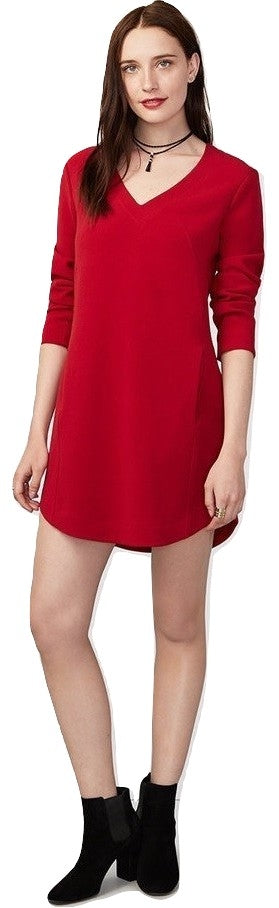 RACHEL Rachel Roy V-Neck Shift Dress Passion 0