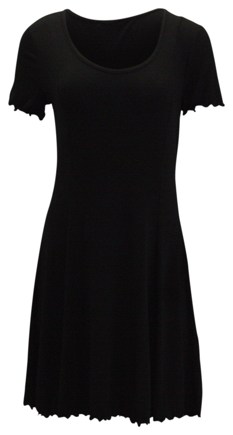 Bar III Ribbed Fit Flare Dress - Gear Relapse