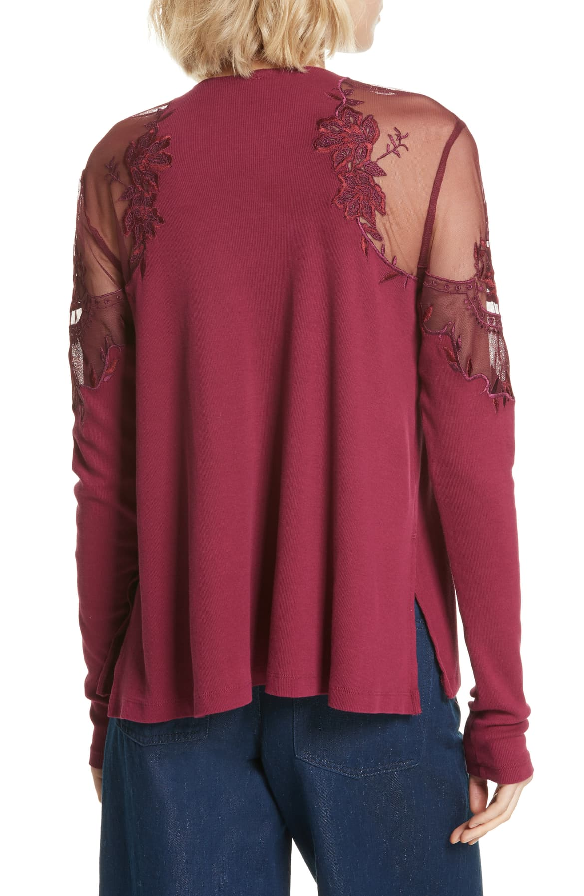 Free People Daniella Embroidered Top - Gear Relapse