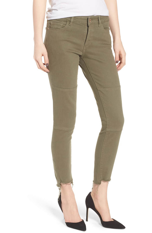 DL1961 Margaux Instasculpt Ankle Skinny Jeans Green 28 - Gear Relapse
