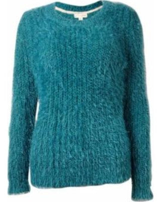 Maison Jules Women's Eyelash Chunky Knit Sweater M - Gear Relapse