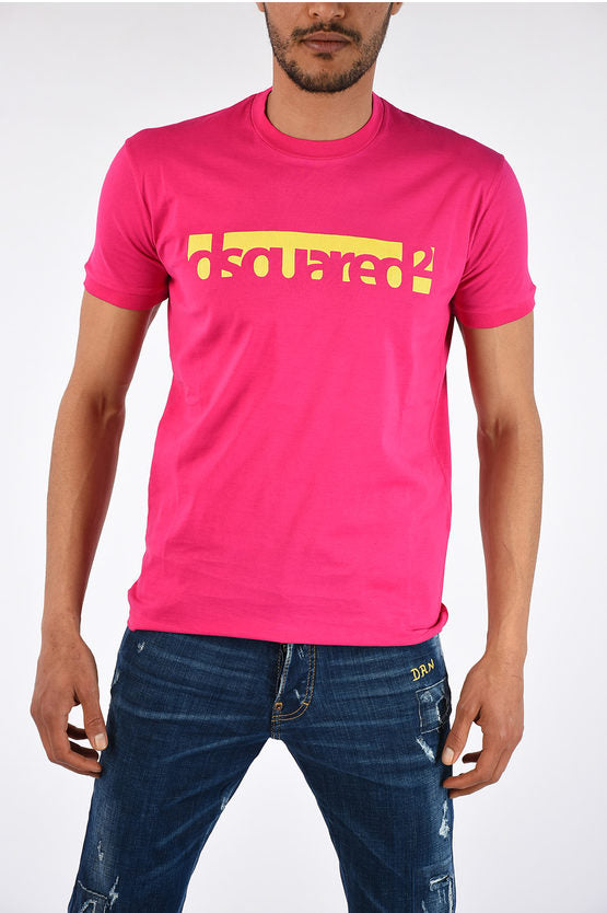 DSQUARED2 Logo Short Sleeve Tee Pink XXL