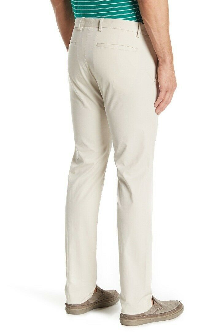 Theory Men's Casual Zaine Slim Fit Chinos Beige 36