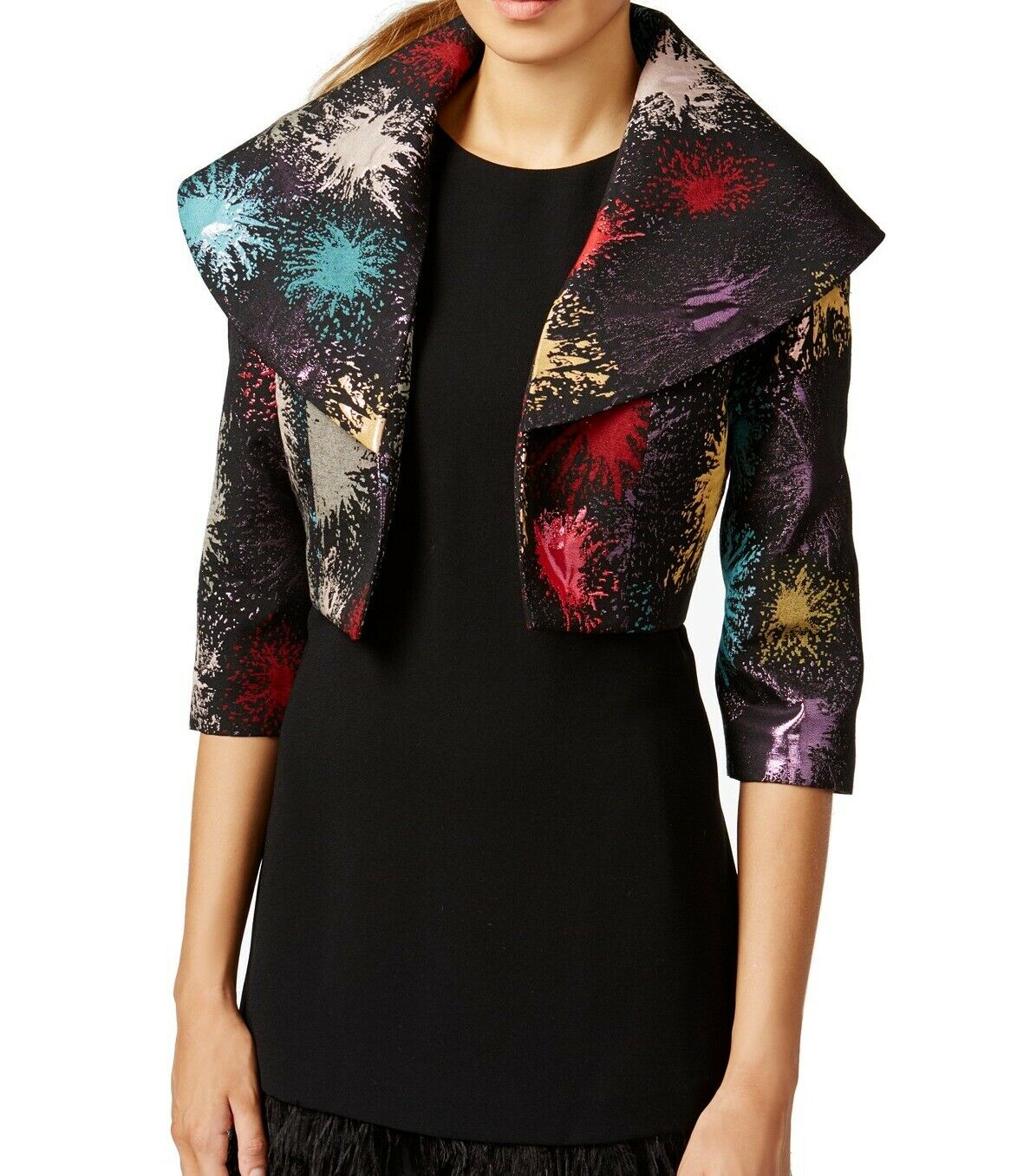 B Michael Printed Jacket Multi - Gear Relapse
