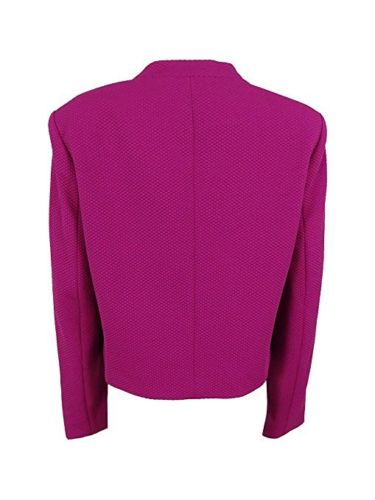 Calvin Klein Lux Open Front Jacket Purple - Gear Relapse