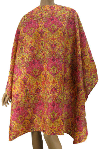 Pretty Imperial Print Hairdressers Cape