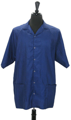 Royal Blue Salon Shirt