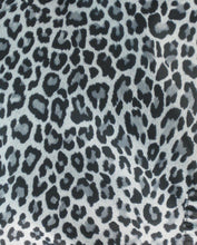 Snow Leopard Hair Stylist Smock One Size Swatch
