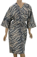 Salon Client Gown In Tapestry Zebra