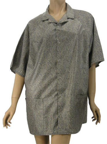 Unisex Stylist Shirt Weave Print Medium