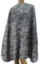 Zebra Hair Salon Cutting Cape