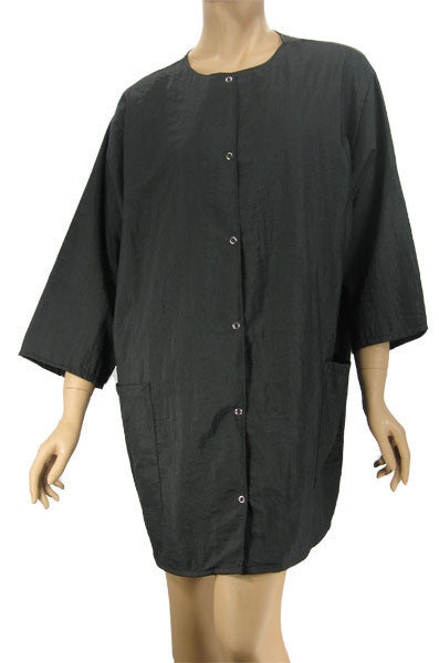 black stylist jacket plus size nylon