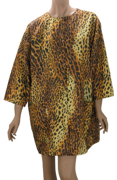 cheetah salon styling jacket