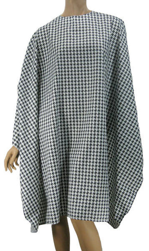 Hair Cutting Cape Classic Hounds Tooth