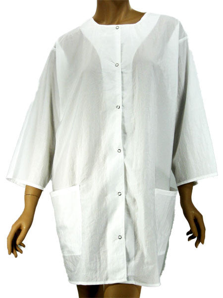 Esthetician White Lightweight Jacket