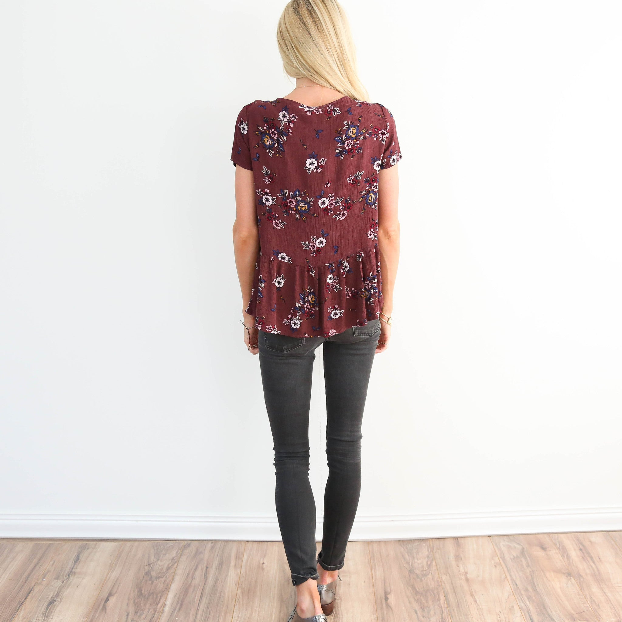 Robin Floral Top