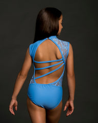 CARLY ADULT LEOTARD W/ LACE