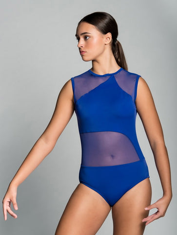 ASHTON CHILD LEOTARD: THIN NECK