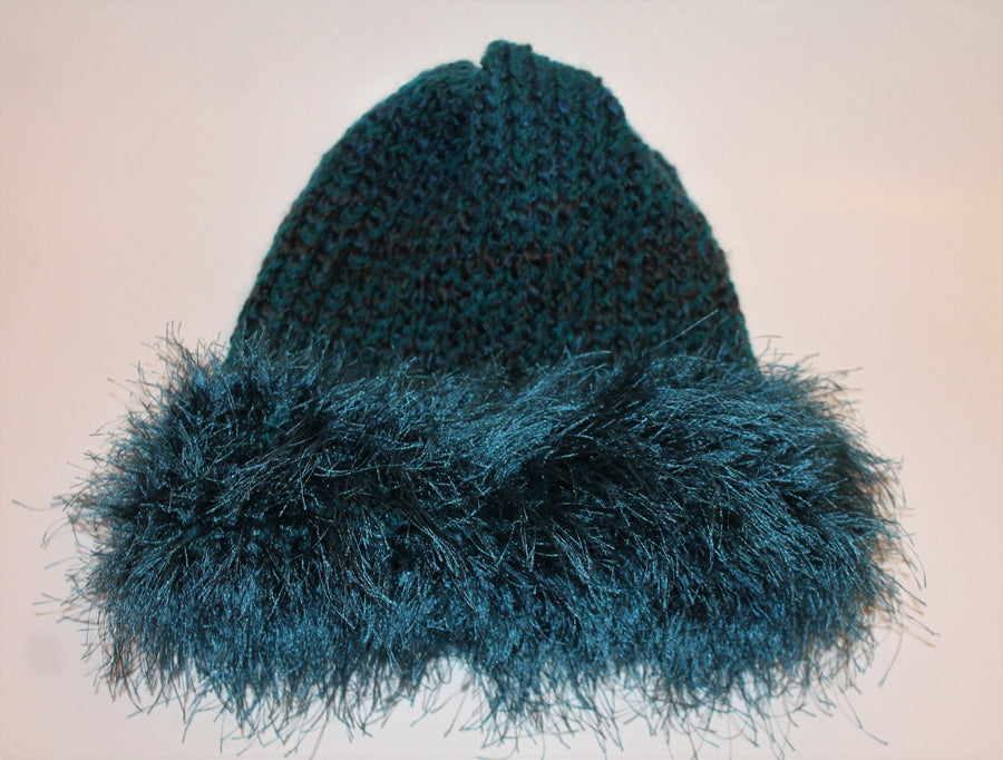 Prussian Blue Beanie- Adult/teen