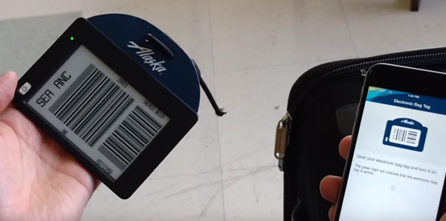 Alaska Airlines testing ViewTag with passengers and employees