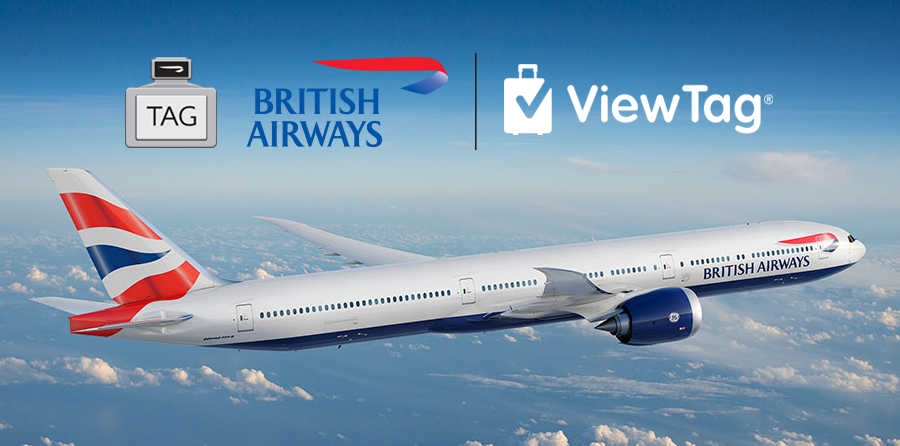 British Airways to Introduce ViewTag® for Simplified Airport Experience