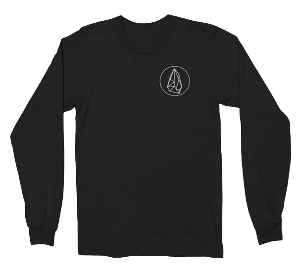 Long Sleeve Black Opal T-Shirt