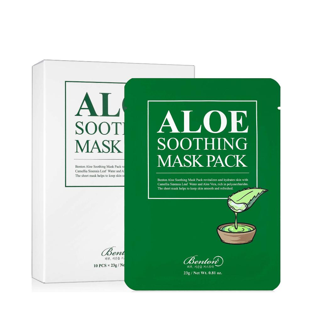 Aloe Vera Soothing Mask Pack