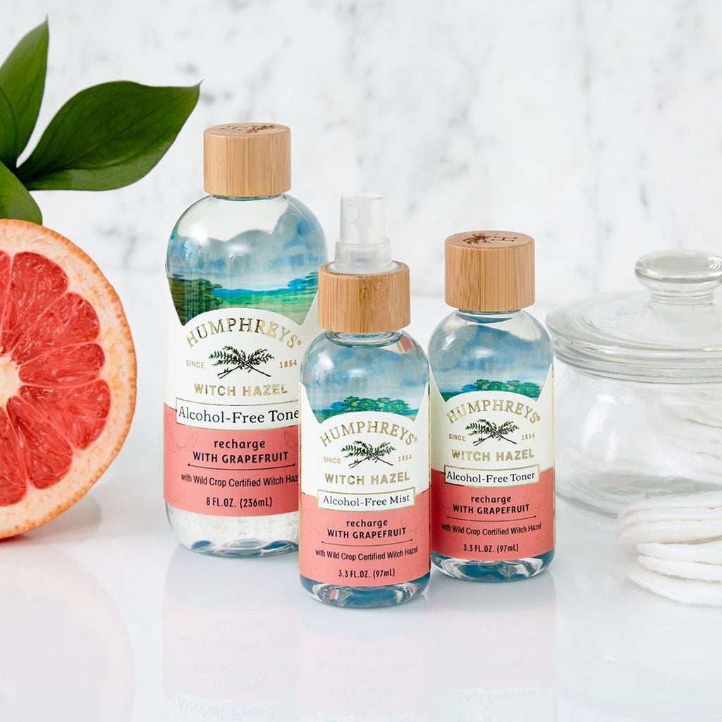 Recharge Alcohol-Free Witch Hazel Toner - Grapefruit